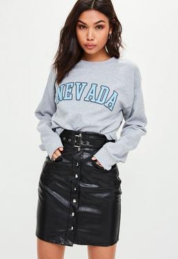 Szara luźna bluza Nevada