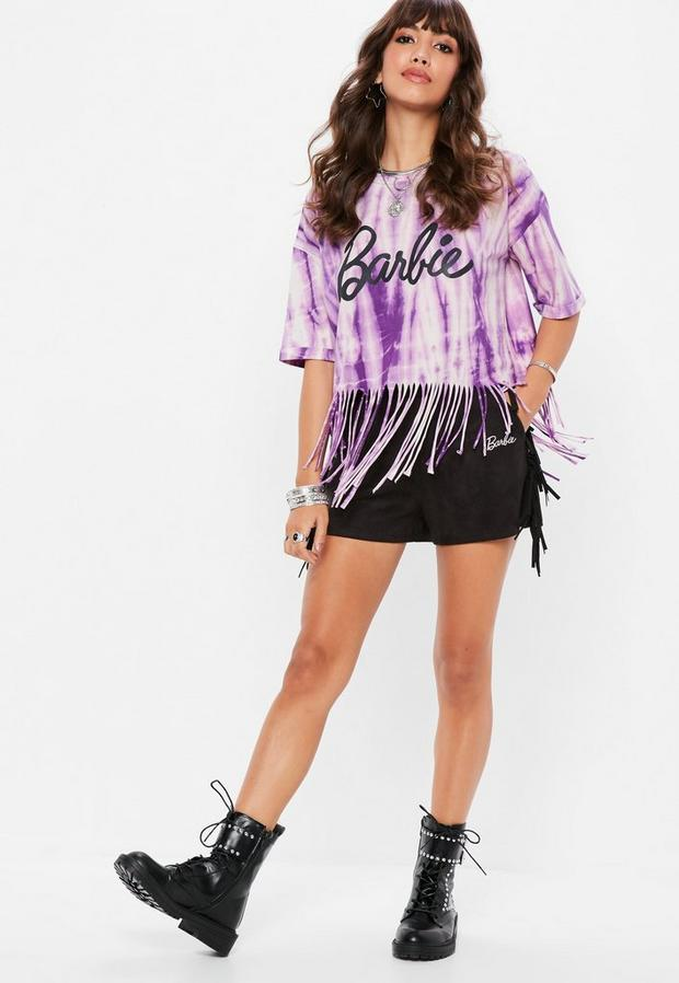 tie and dye violet Barbie x Missguided