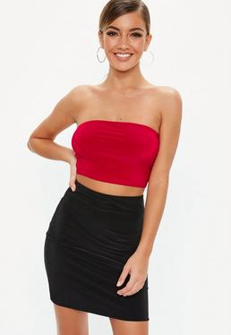 eeec3ce360 Red Bralets · Red Crop Tops