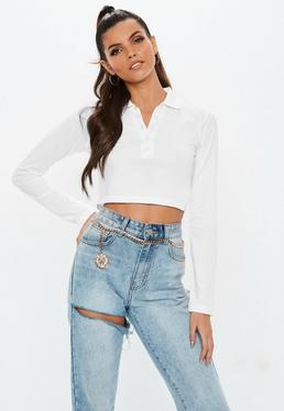 b4fcb88e4b9c8c White Crop Tops