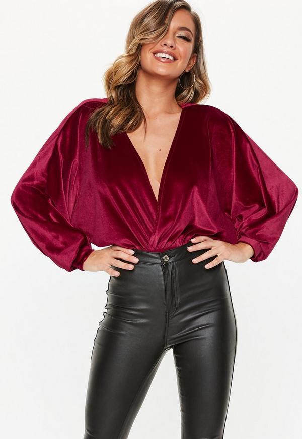 ... Red Velvet Bat Wing Bodysuit. Previous Next 4676eea359f6
