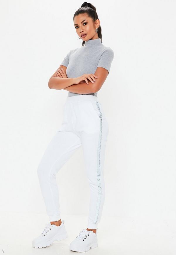 ... Grey High Neck Rib Short Sleeve Bodysuit. Previous Next 519b55cdd