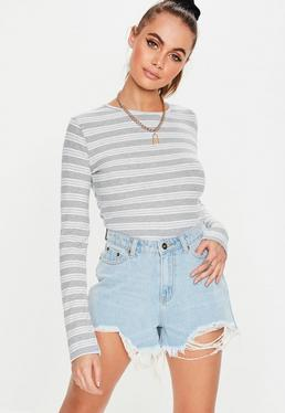 ab98b639b95 Long Sleeve Tops | Tops with Long Sleeves - Missguided