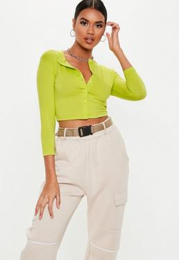 0dc6ff6662 Neon Green Tops