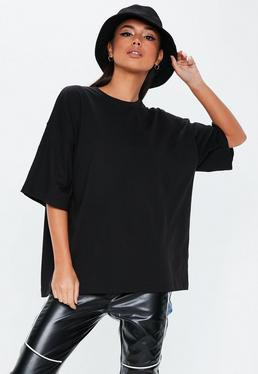 Playboy X Missguided White Logo Repeat Drop Shoulder T Shirt