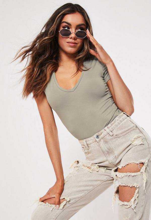04ca2f1da639 Black Cut Out Lace Trim Frill Hem Mini Dress | Missguided Australia