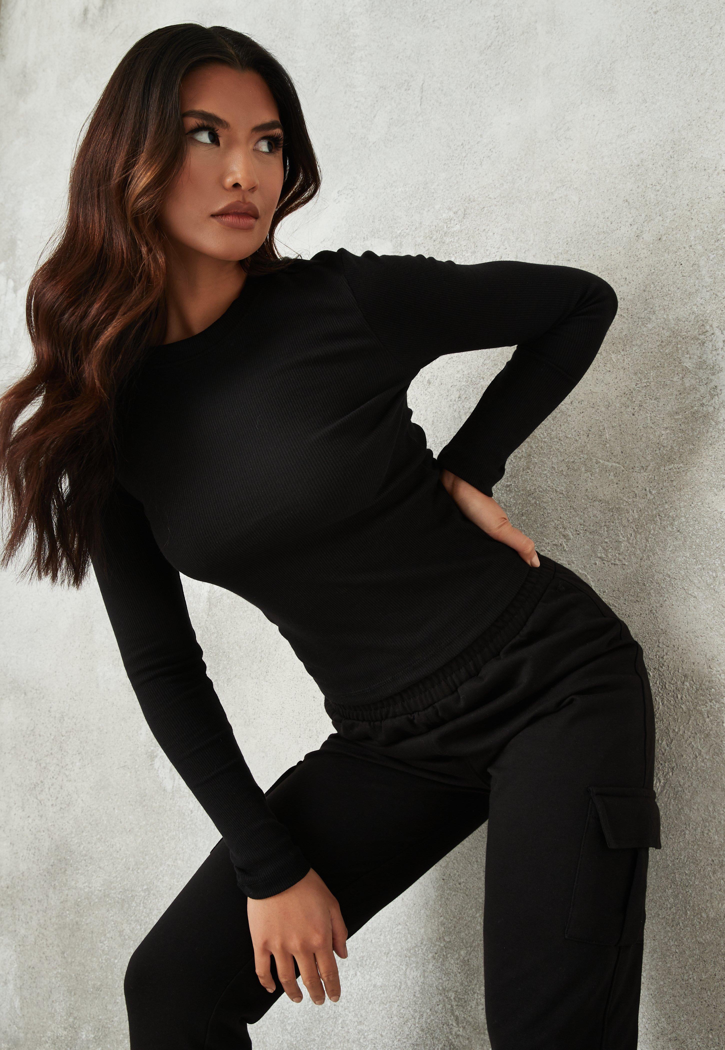0f8af02260e1a Long Sleeve Tops | Tops with Long Sleeves - Missguided