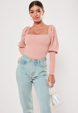 995a7964c Pink Bodysuits   Women's Pink Bodysuits Online - Missguided