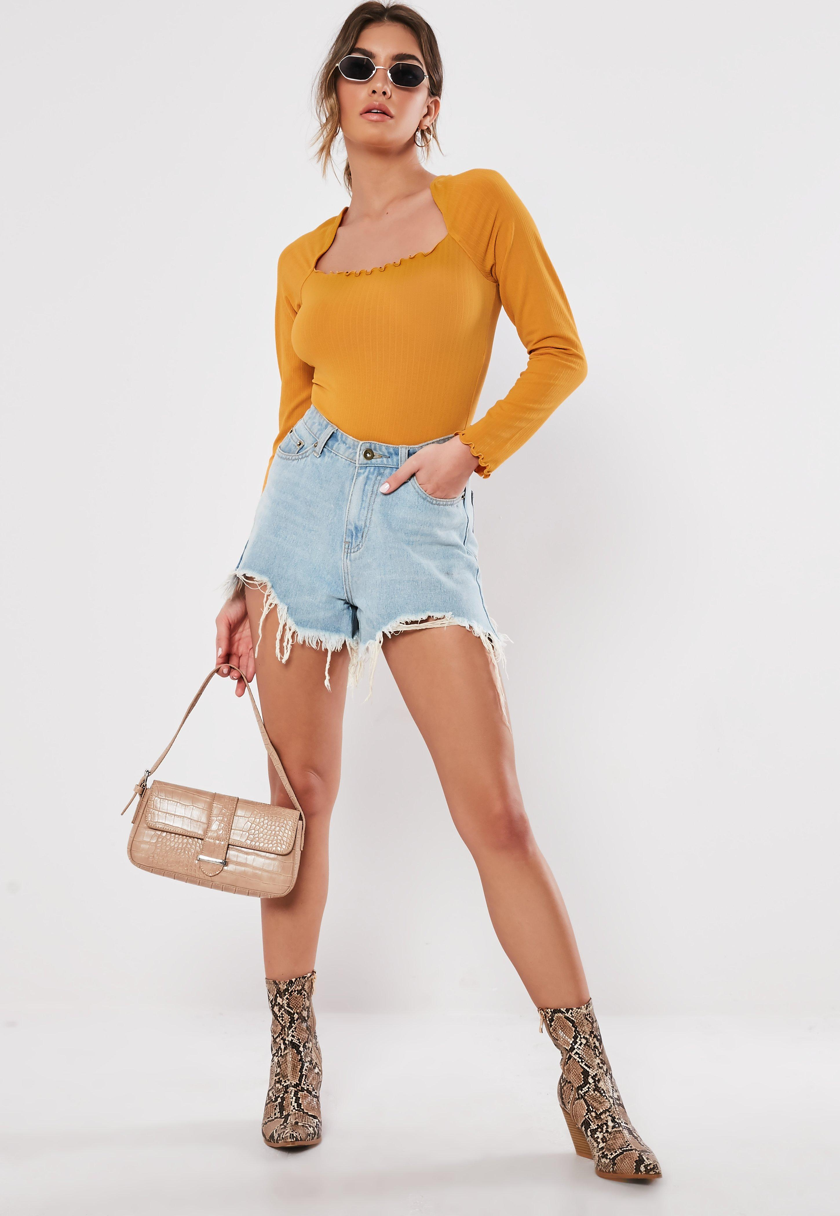 74986c54901 Long Sleeve Tops | Tops with Long Sleeves - Missguided