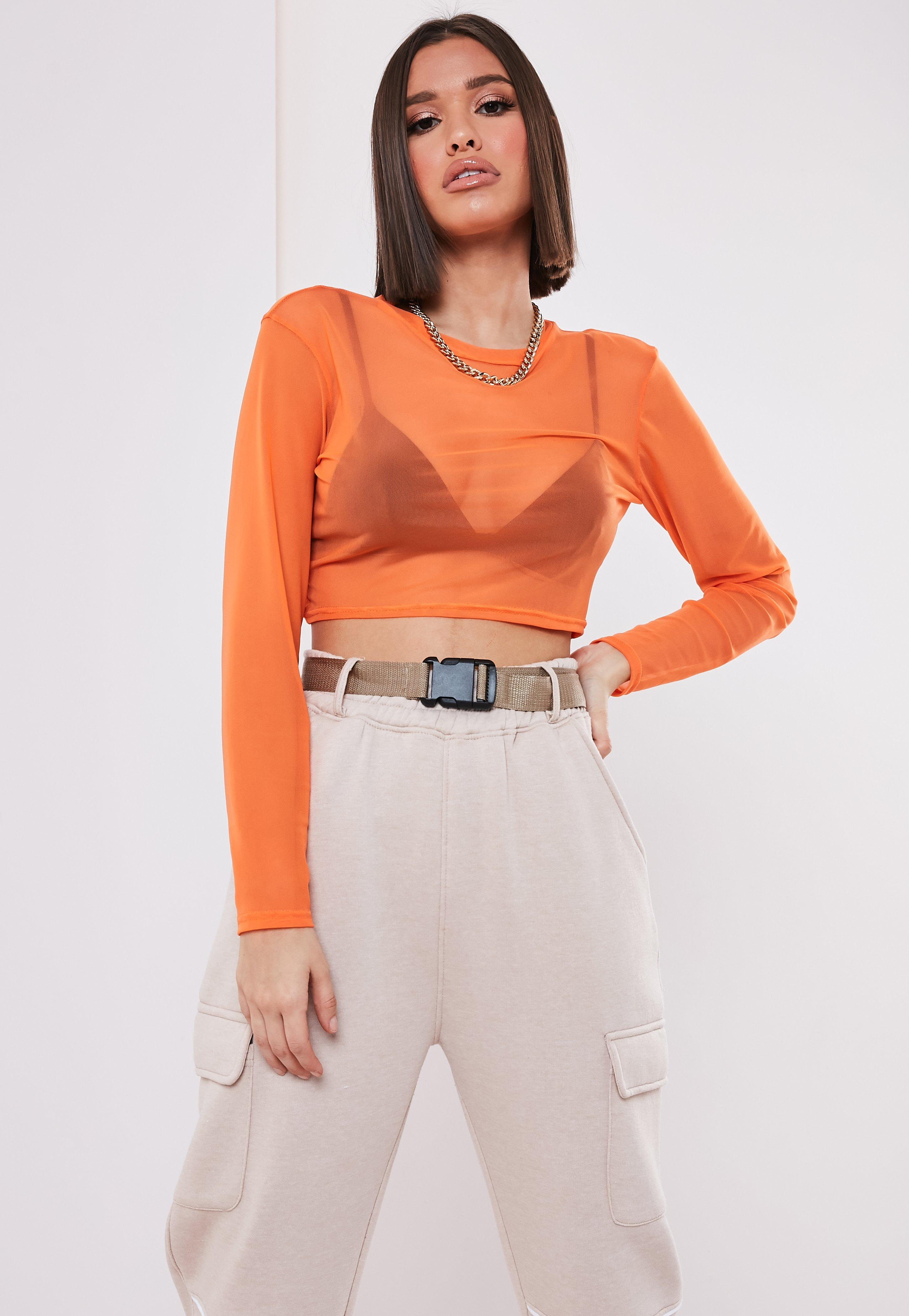 8880717b4ba484 Long Sleeve Tops   Tops with Long Sleeves - Missguided