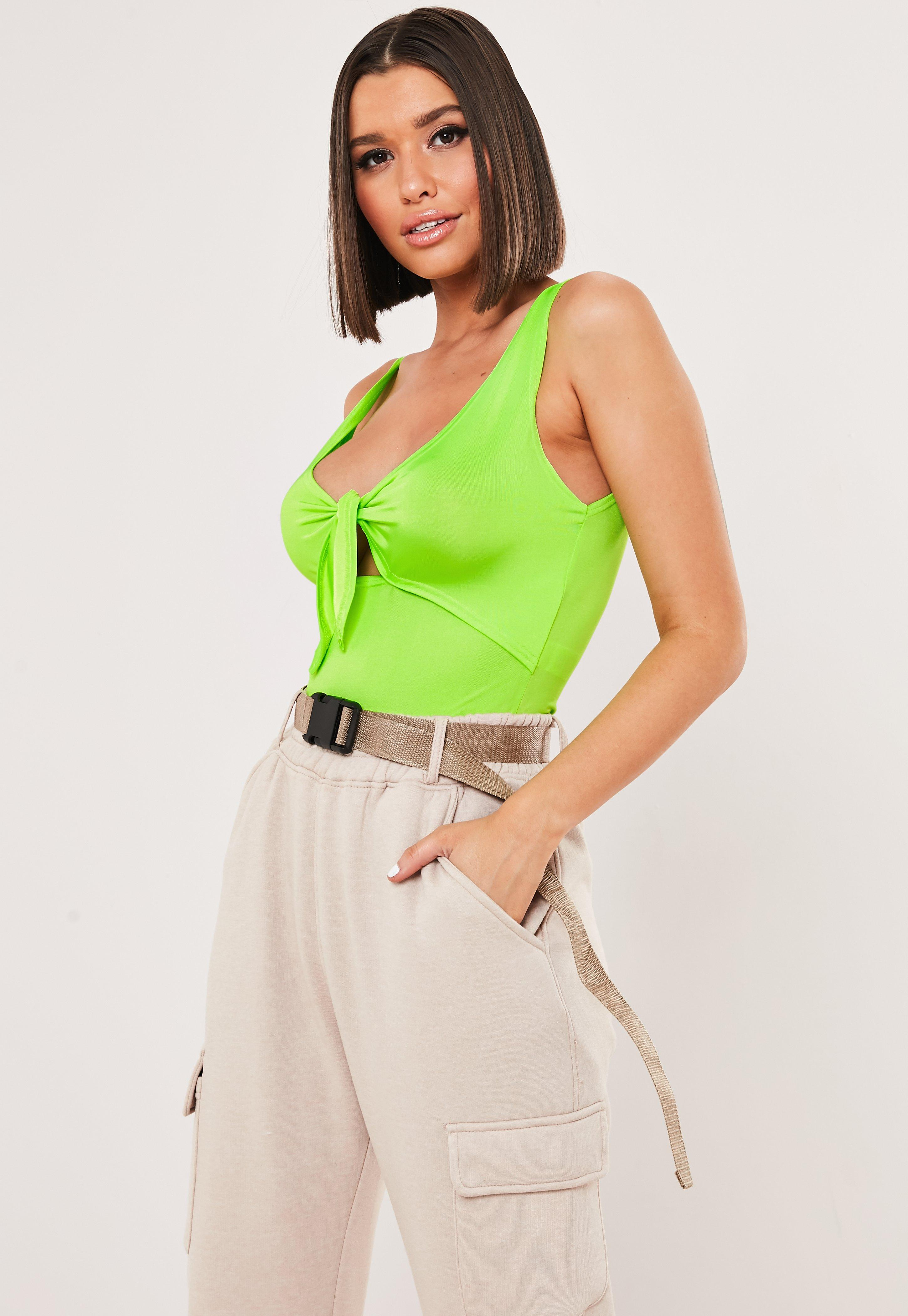 3d1f68a881e13 Green Bodysuits | Women's Green Bodysuits Online - Missguided