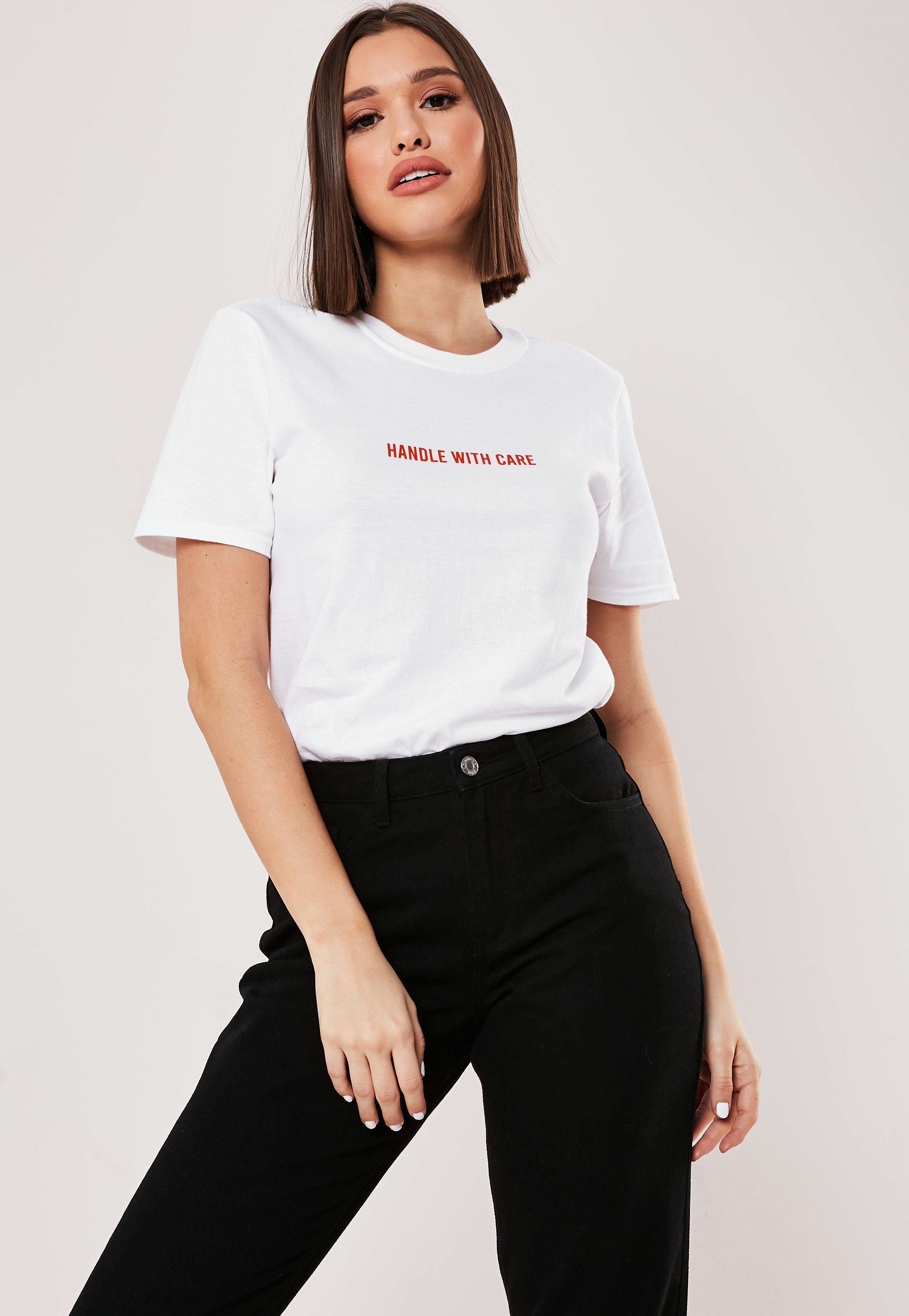 f9c9eca3 Slogan T-Shirts   Slogan Tees & Printed T-Shirts - Missguided