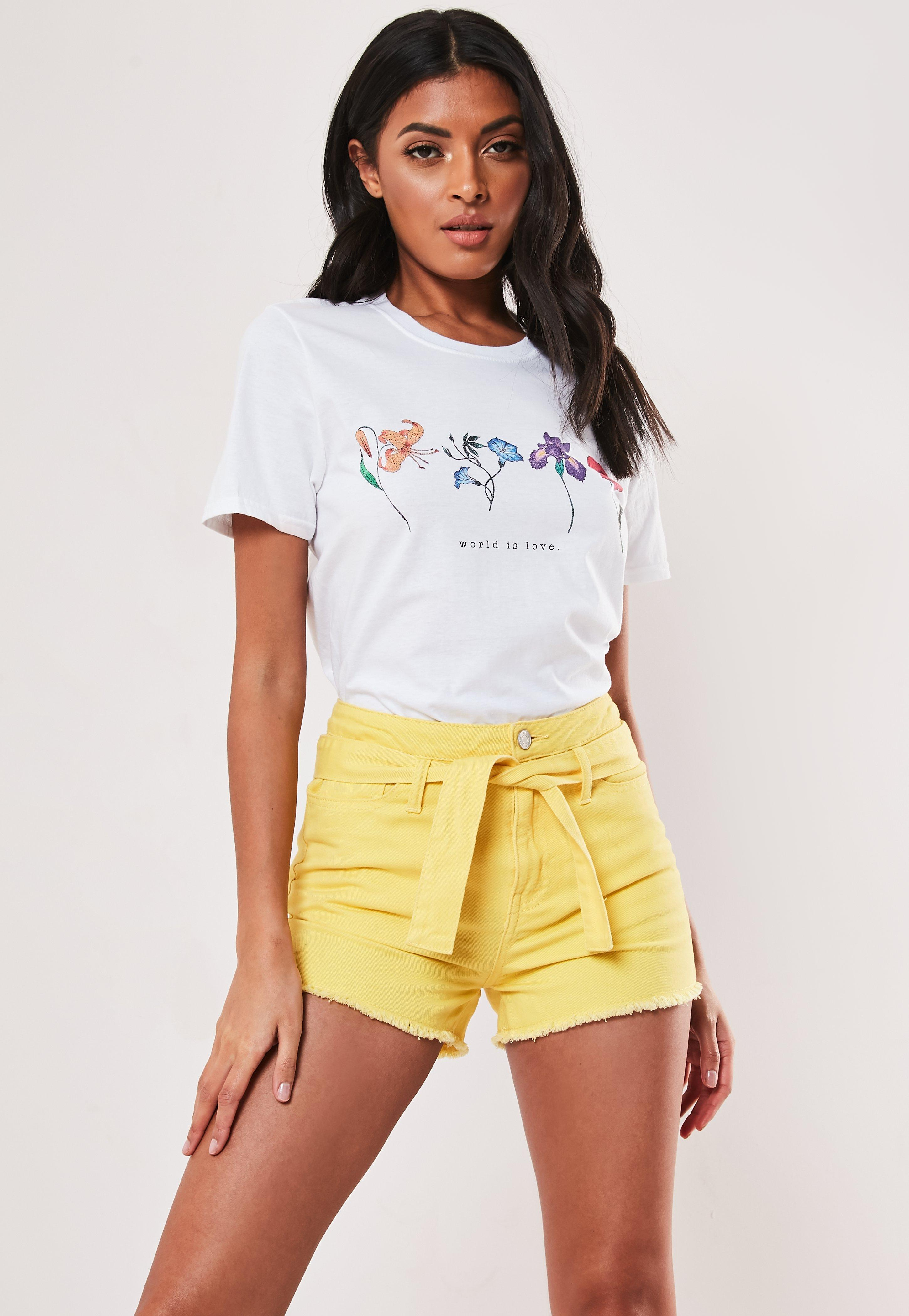 61d94e06677 Women's T-Shirts - Graphic & Rock Tees Online   Missguided