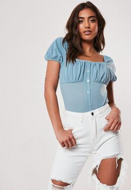 401be78953 Blue Tops | Navy & Royal Blue Tops - Missguided