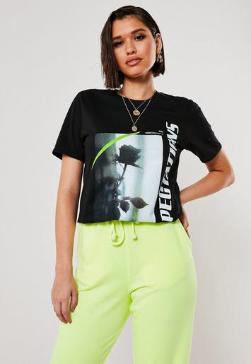 Black Expectations Graphic T Shirt by Missguided