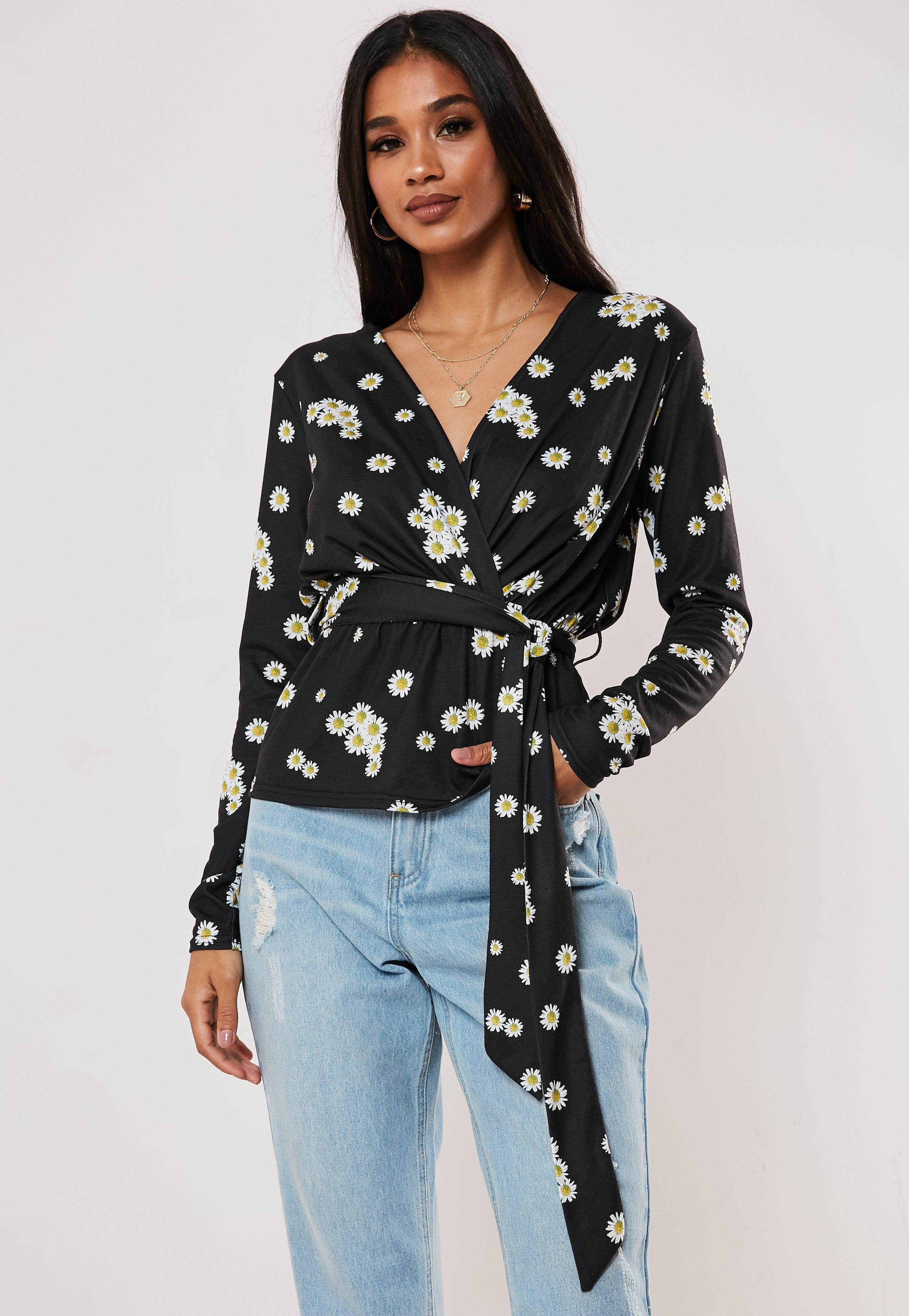 7497963cf3eb Blouses | Women's Floral, Chiffon & Satin Blouses - Missguided
