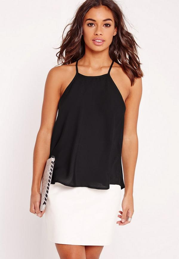 Swing Cami Top Black