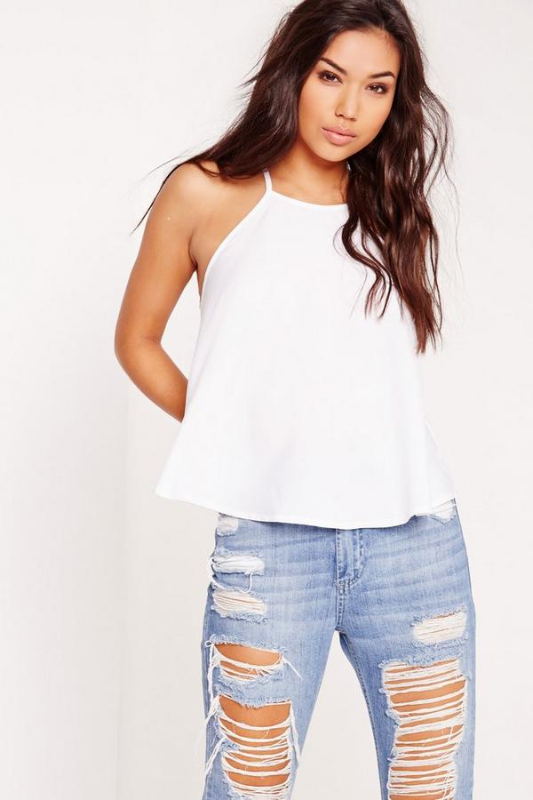 Swing Cami Top White