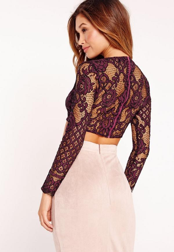 Find great deals on eBay for lace crop top long sleeve. Shop with confidence.