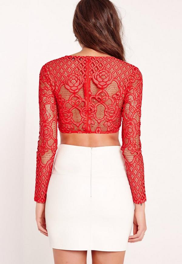 Find great deals on eBay for red long sleeve crop top. Shop with confidence.