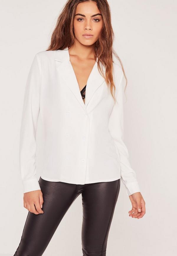 Blazer Shirt White