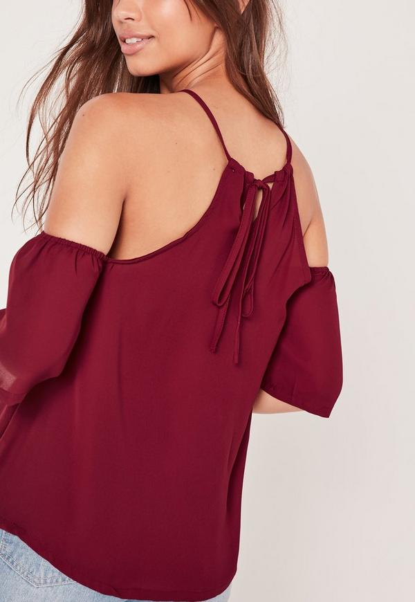 We are loving the minimal yet glam Lulus Maddox Burgundy Satin Lace Cami! Satin cami top has lovely eyelash lace trim across the neckline and back/5(11).