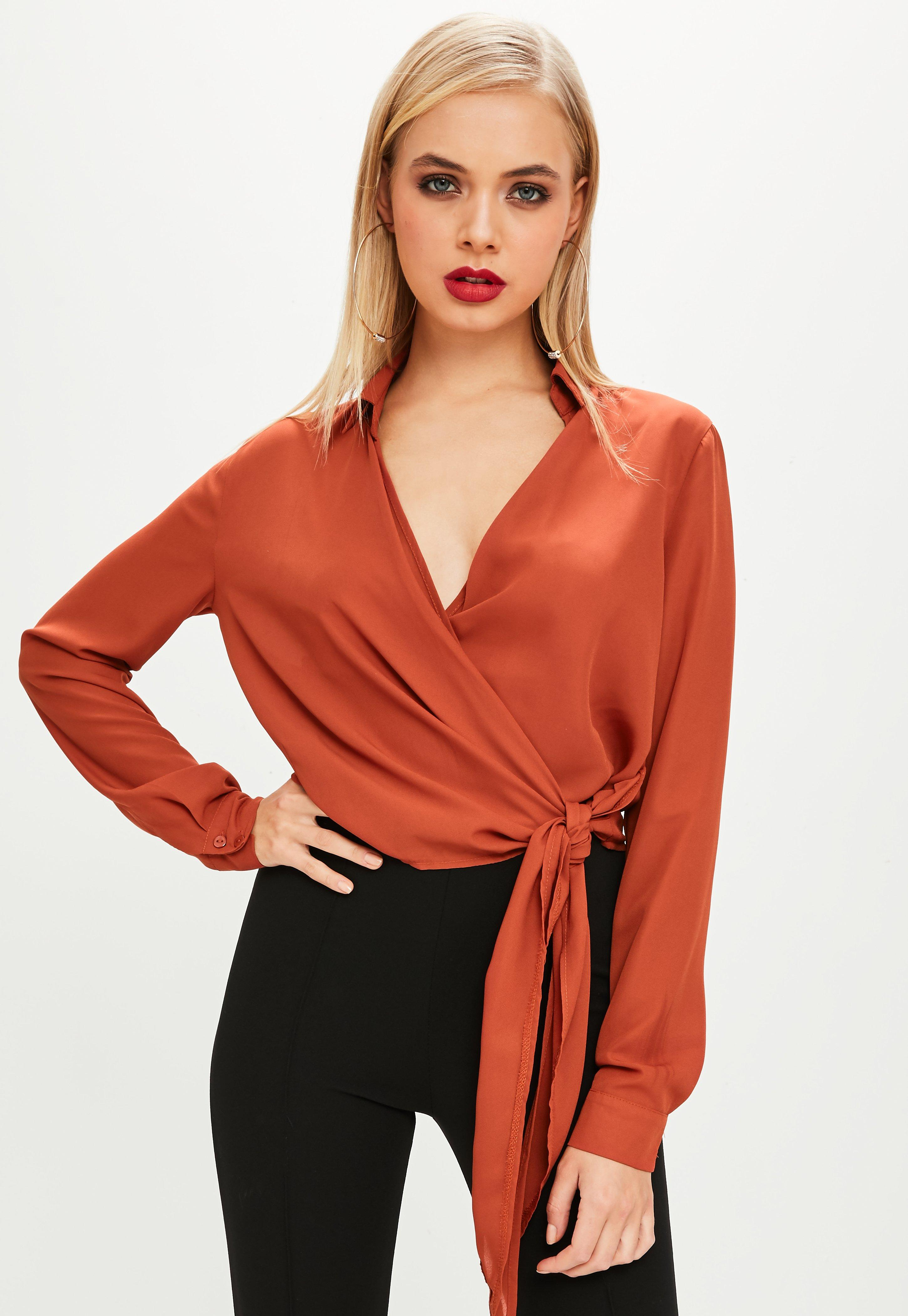 blouses | women's sheer, chiffon & white blouses- missguided