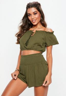 641f3dad42612 Bardot Tops - Off the Shoulder Tops
