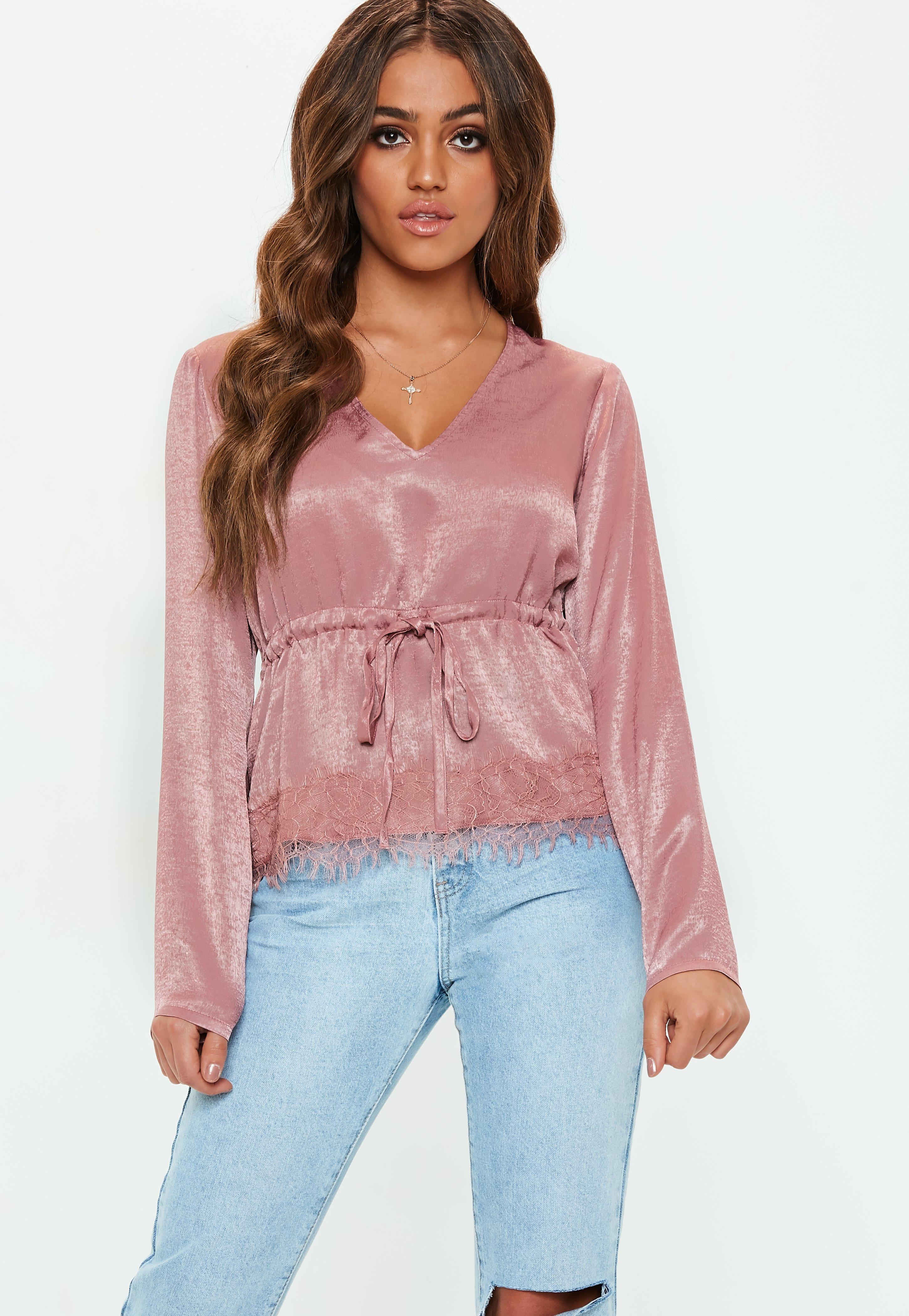 6019395f5f1959 Pink Dressy Shirts