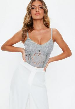 Low Cut Tops Plunge Amp Deep V Tops Missguided