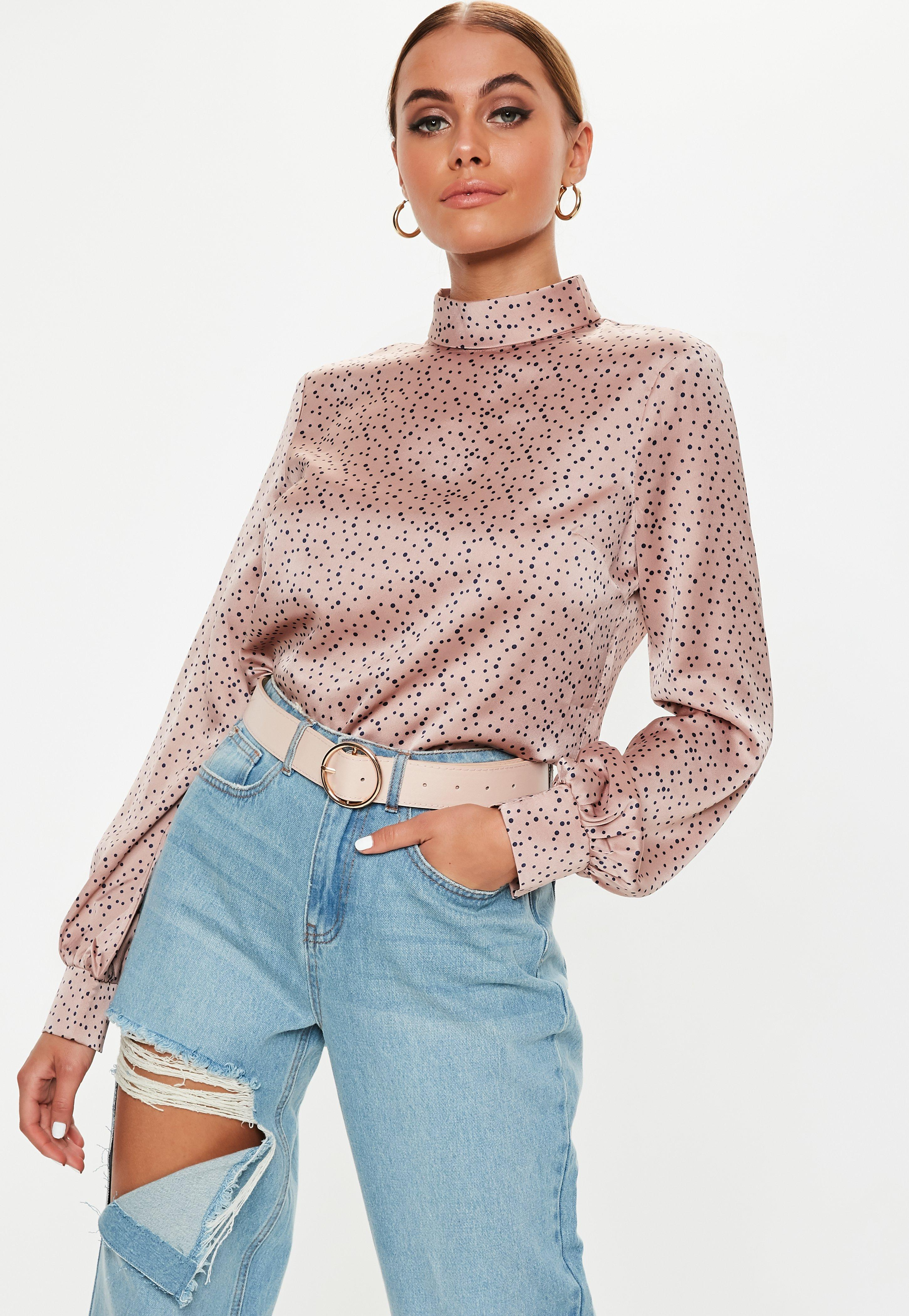 0b62a4918 Satin Tops | Shop Silky Tops - Missguided