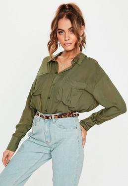 f3cf9819b33673 Women's Shirts | Satin & Oversized Shirts - Missguided