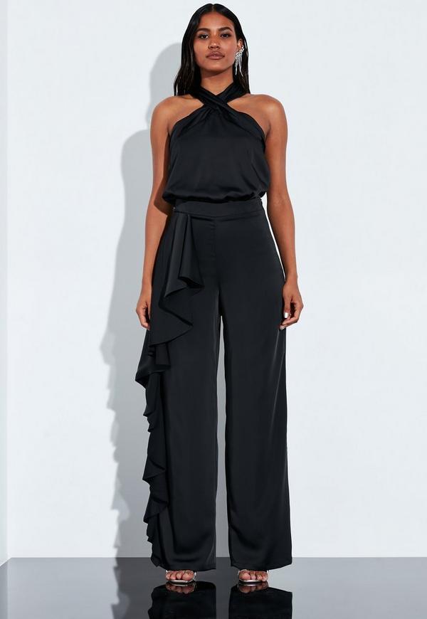 7d6f492f1a Shoptagr | Playboy X Missguided Black Mesh Overlay Triangle Bikini ...