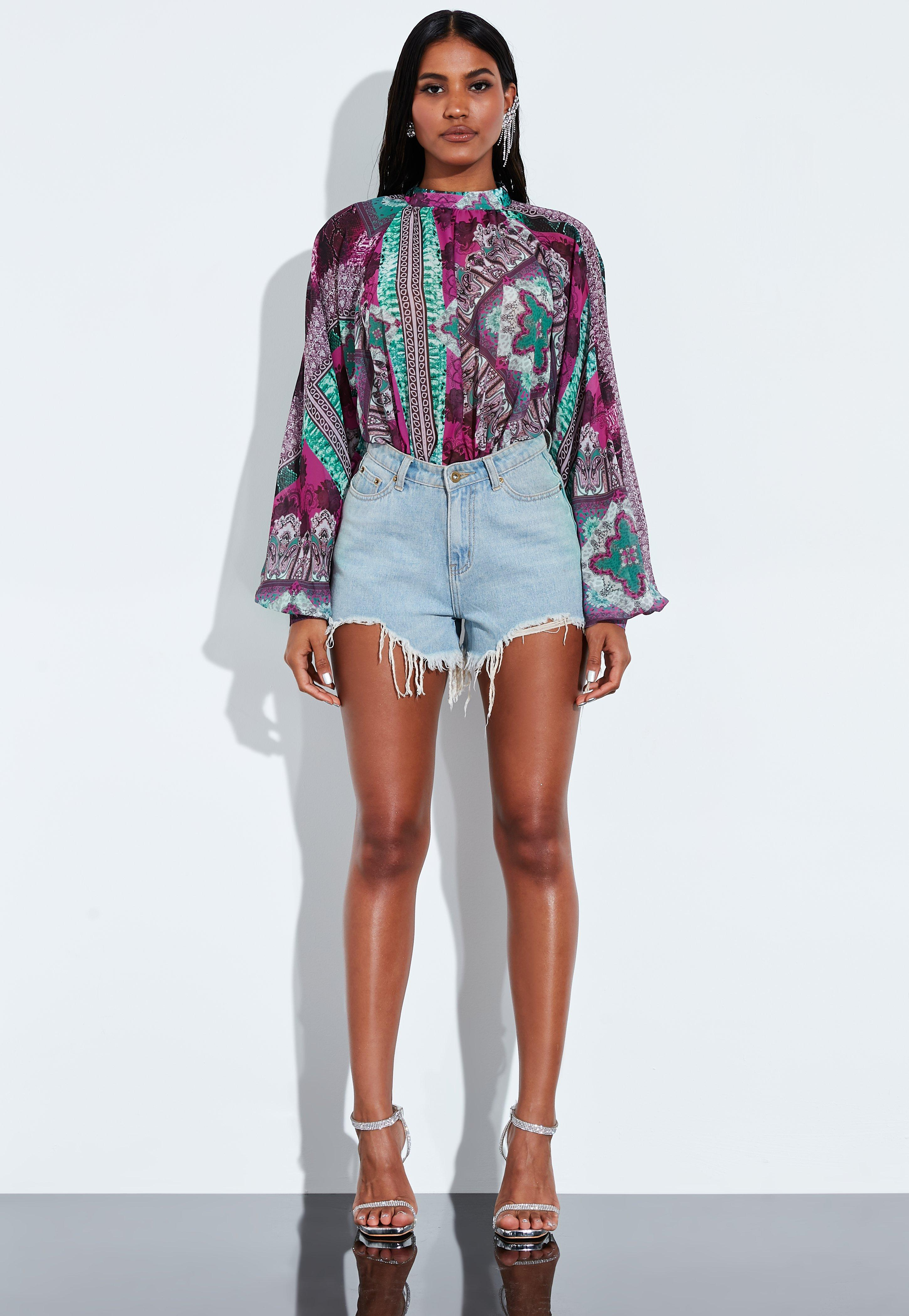 ad8c5a13ba97 High Neck Bodysuits, High Neck Bodies Online - Missguided