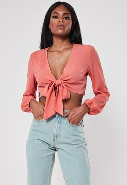 98ab7740dbd84d Plunge Tops | Low Cut & V Neck Tops - Missguided