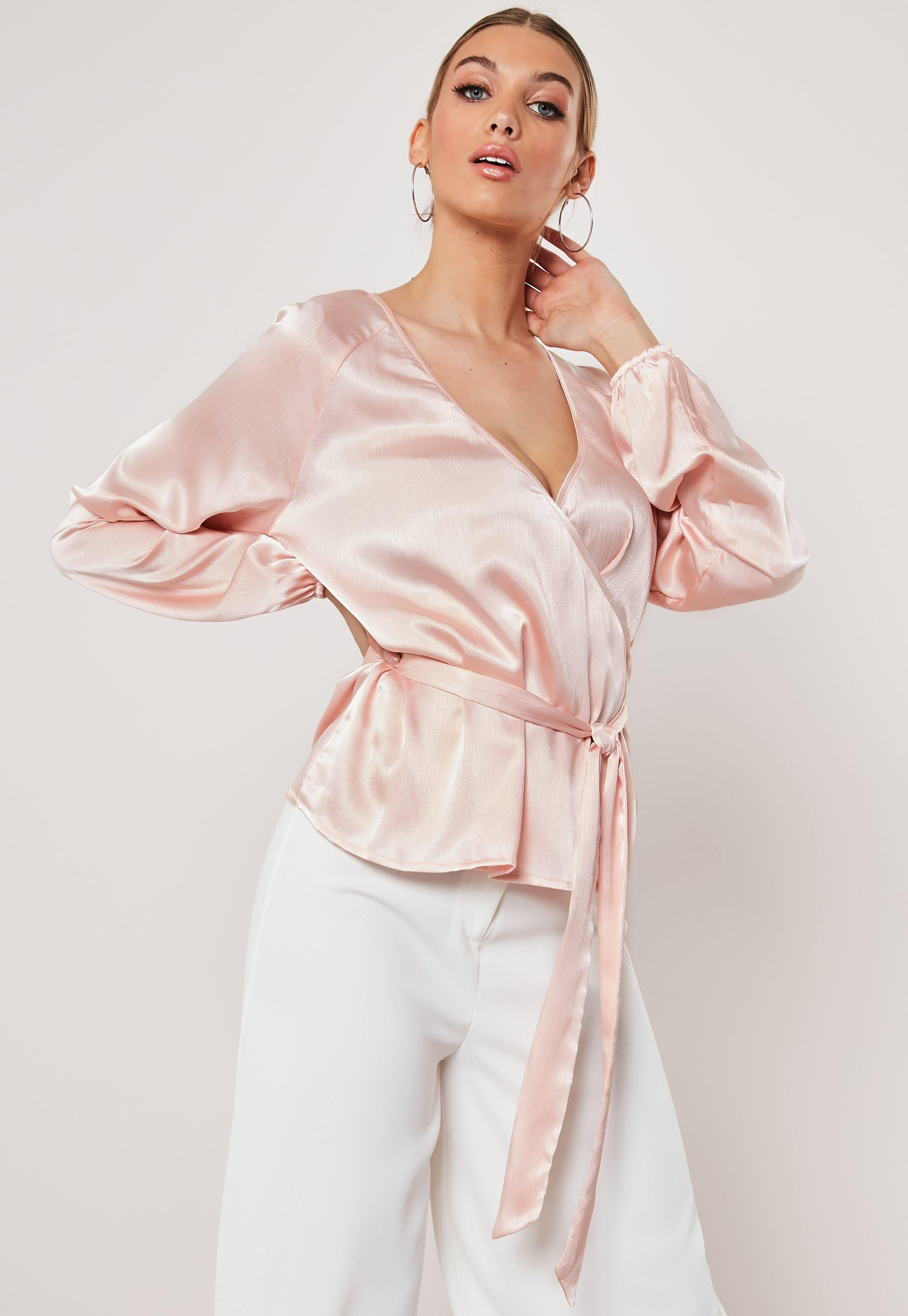 e451dc9414d Satin Tops | Shop Silky Tops - Missguided
