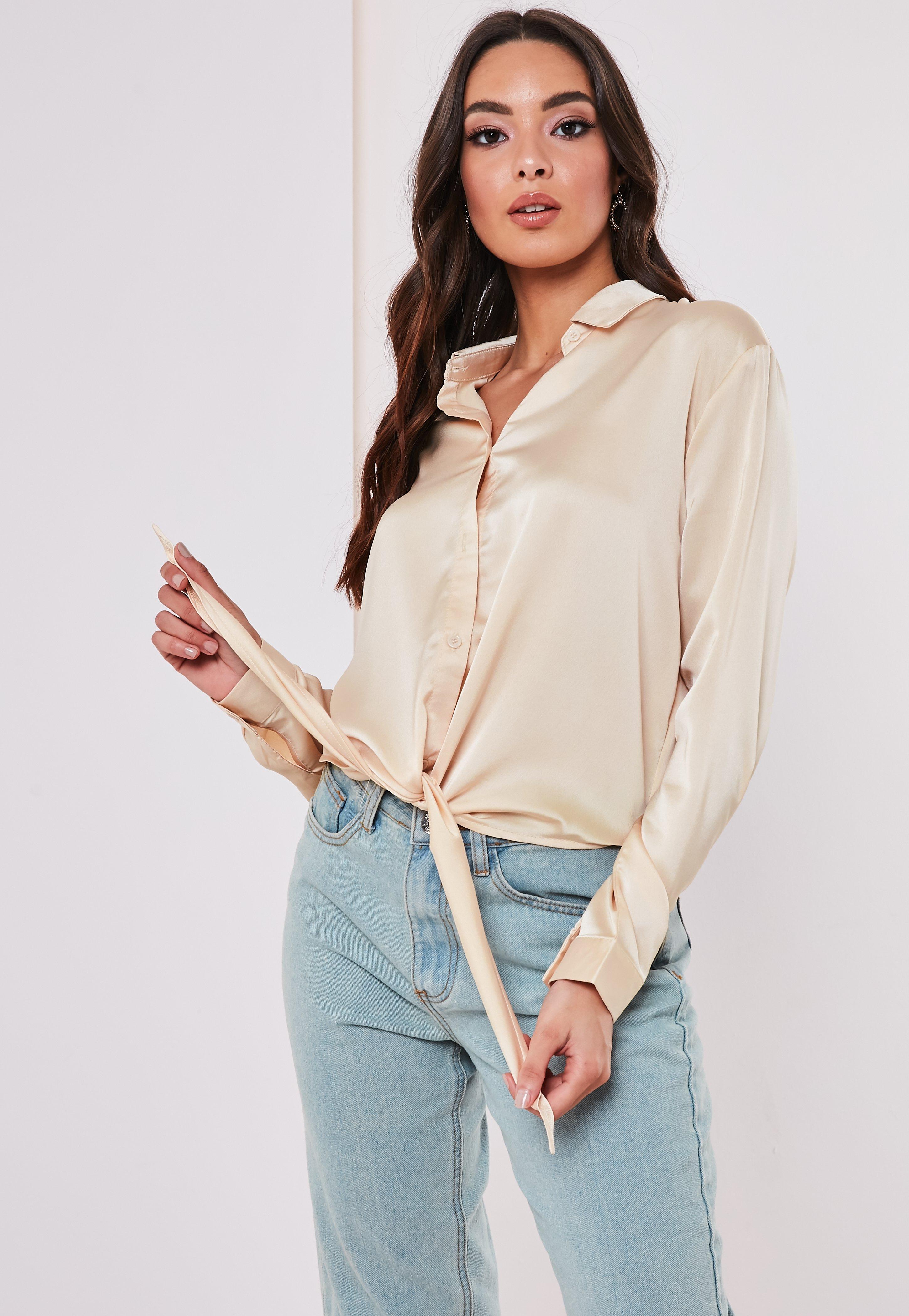 753789da Women's Shirts - Buy Shirts Online | Missguided
