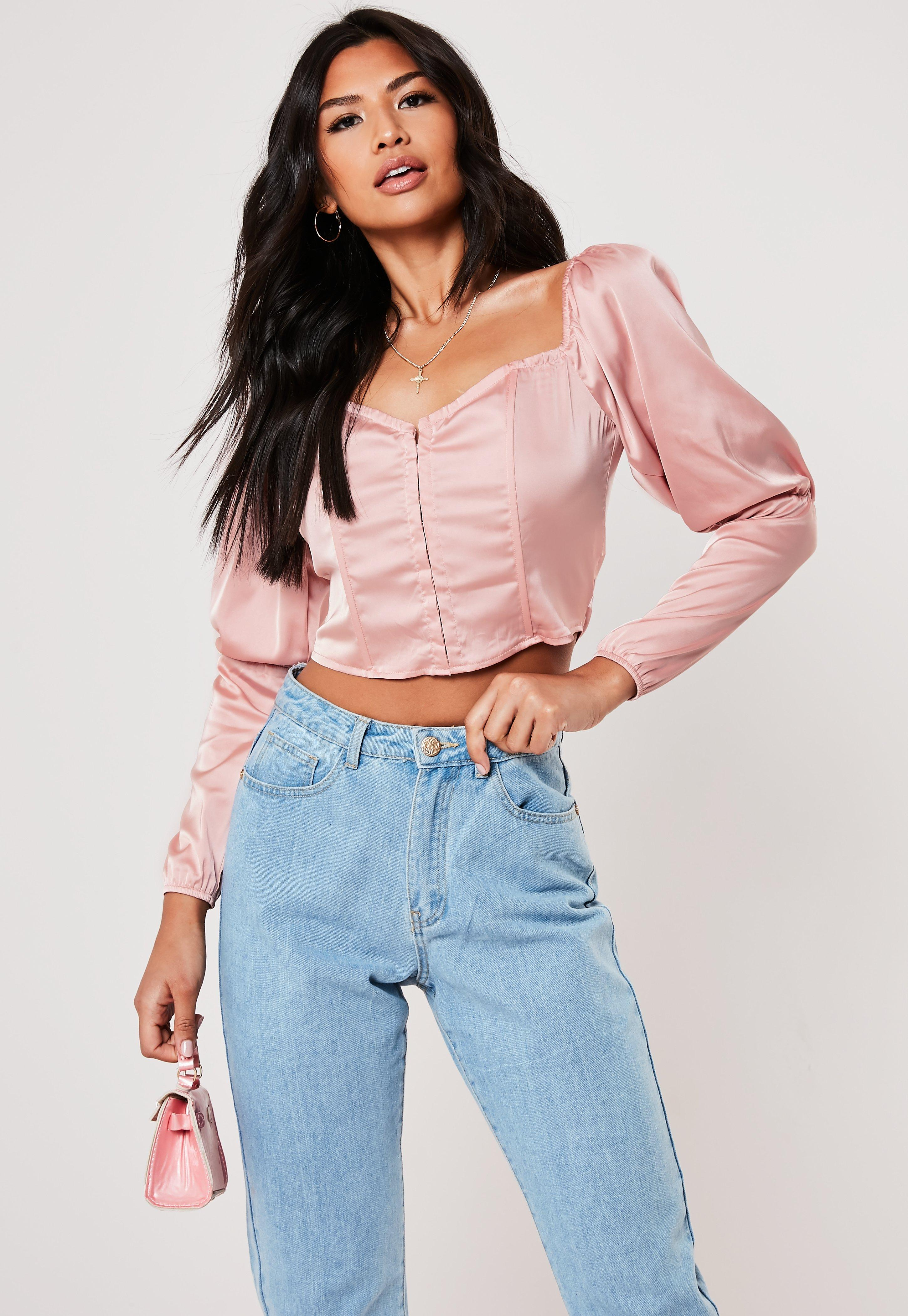188e15884035ef Going Out Tops, Women's Party & Evening Tops   Missguided