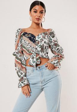 9463f7e680db Going Out Tops, Women's Party & Evening Tops | Missguided