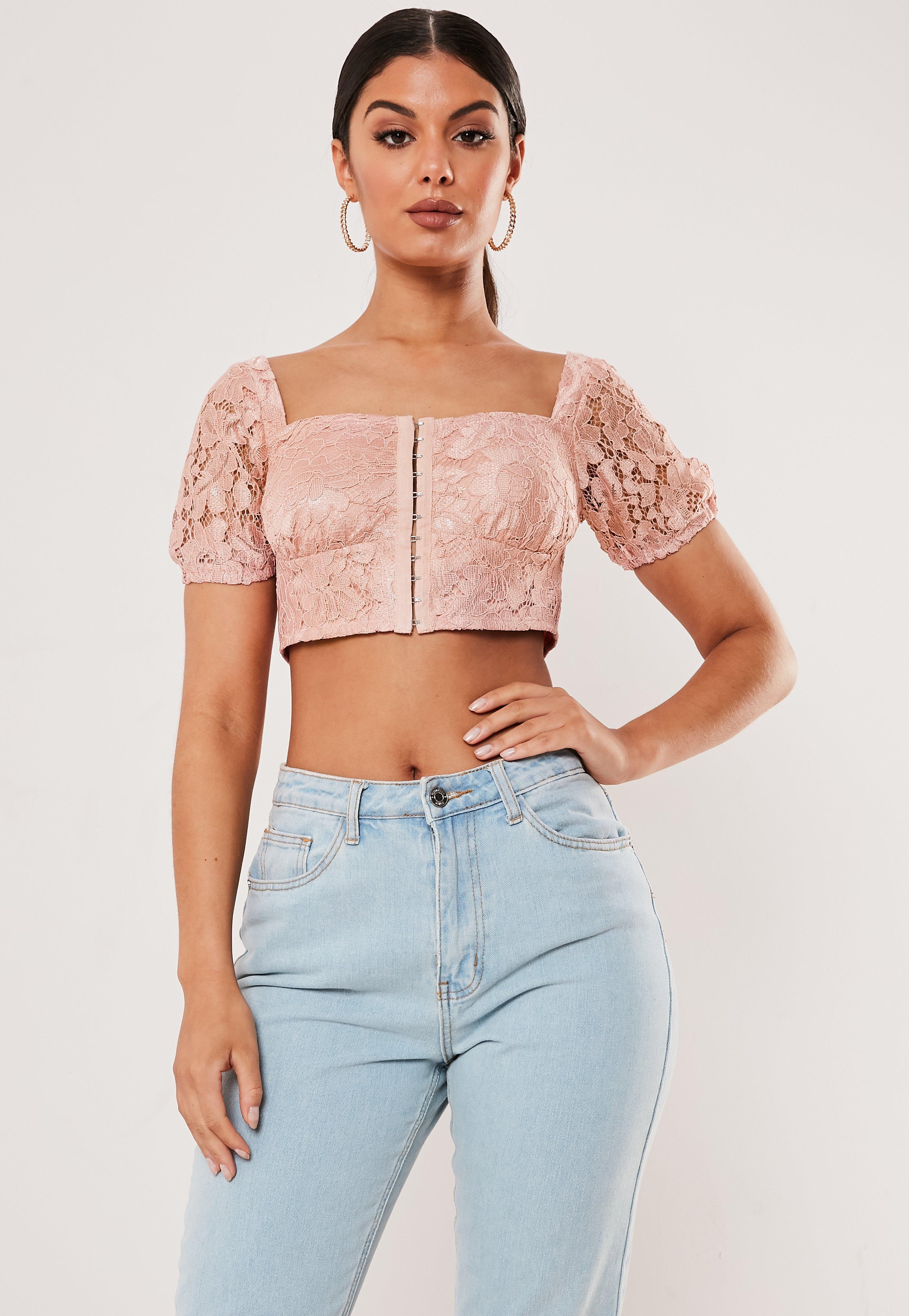 5369ba072e4a Pink Crop Tops | Women's Pink Crop Tops Online - Missguided