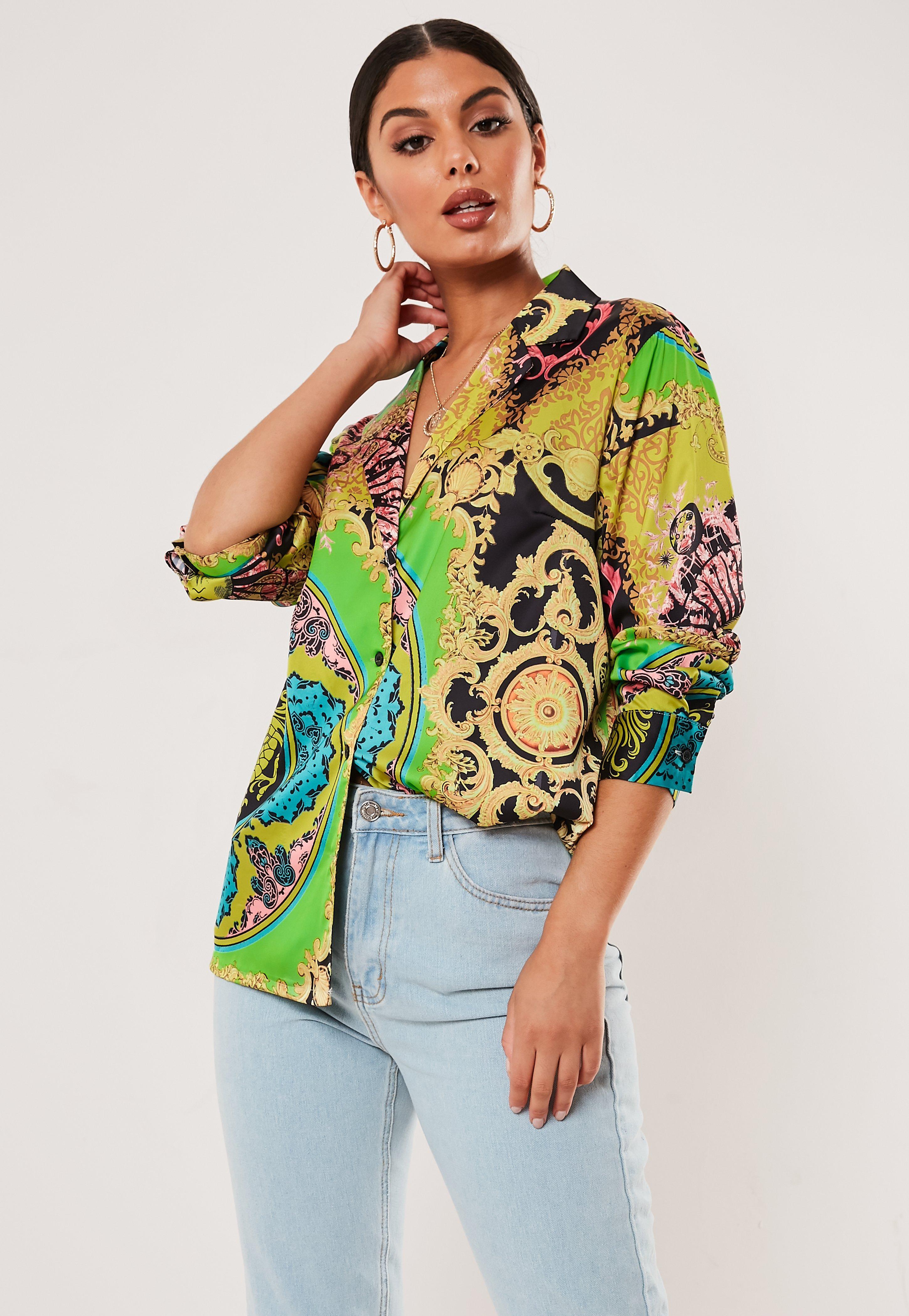 73a2d1e1acd156 Blouses | Women's Floral, Chiffon & Satin Blouses - Missguided