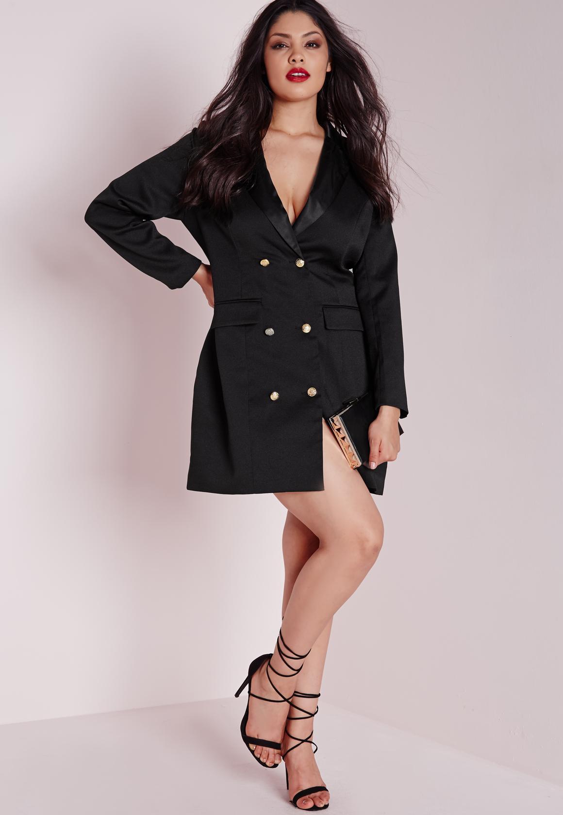 Plus Size Collar Dress