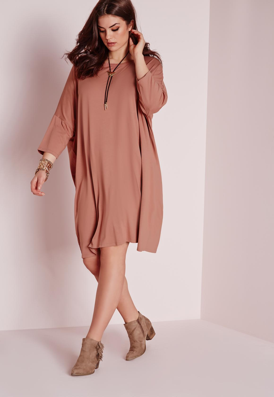 Maxi t shirt dress plus size