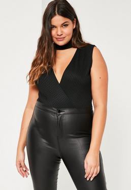 All the Best Women Clothing:S M L XL XXL XXXL New Look Plus Asymmetric Hem  Knit