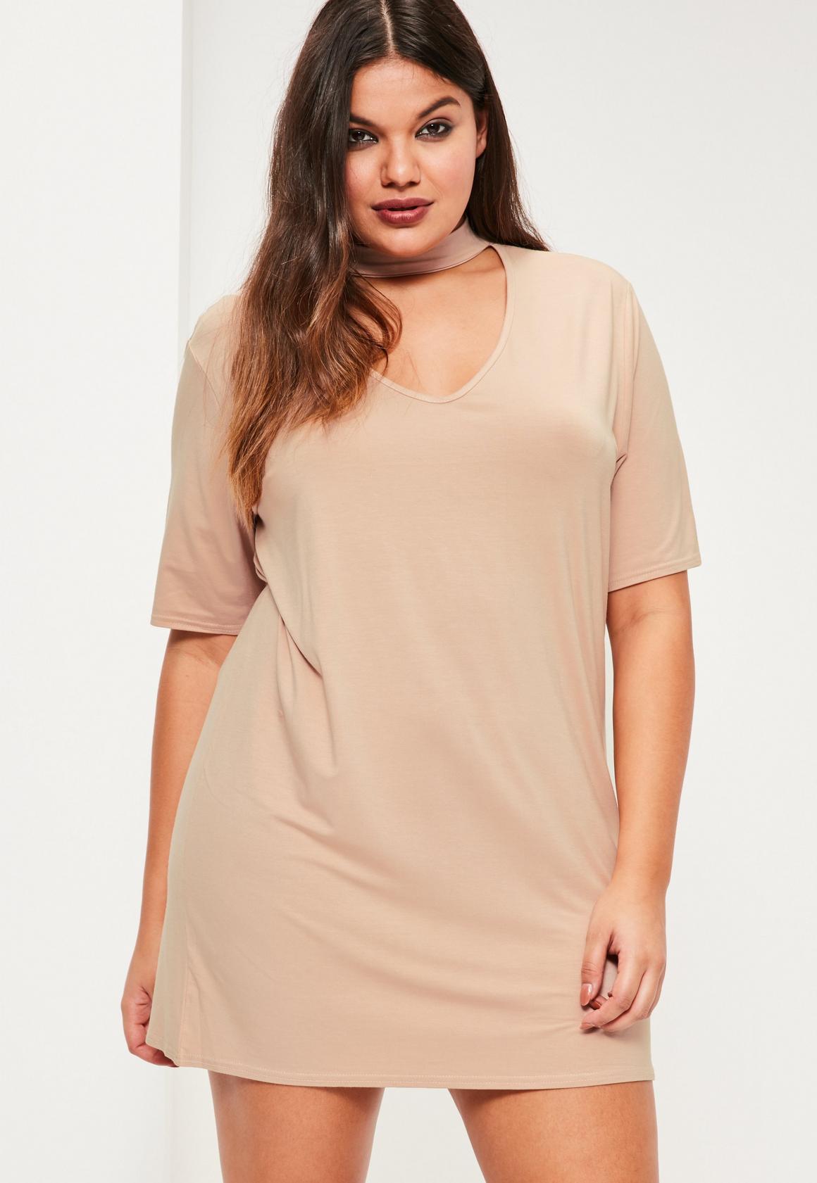 t shirt dress plus size blush – woman best dresses