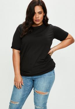 Curve Black Boyfriend T-shirt