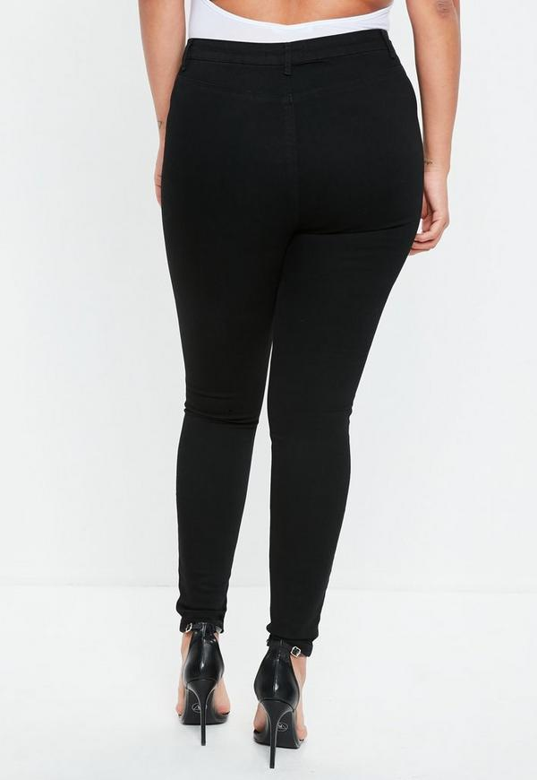 Curve Black Lawless High Waist Superstretch Skinny Jeans  19a8d8a212