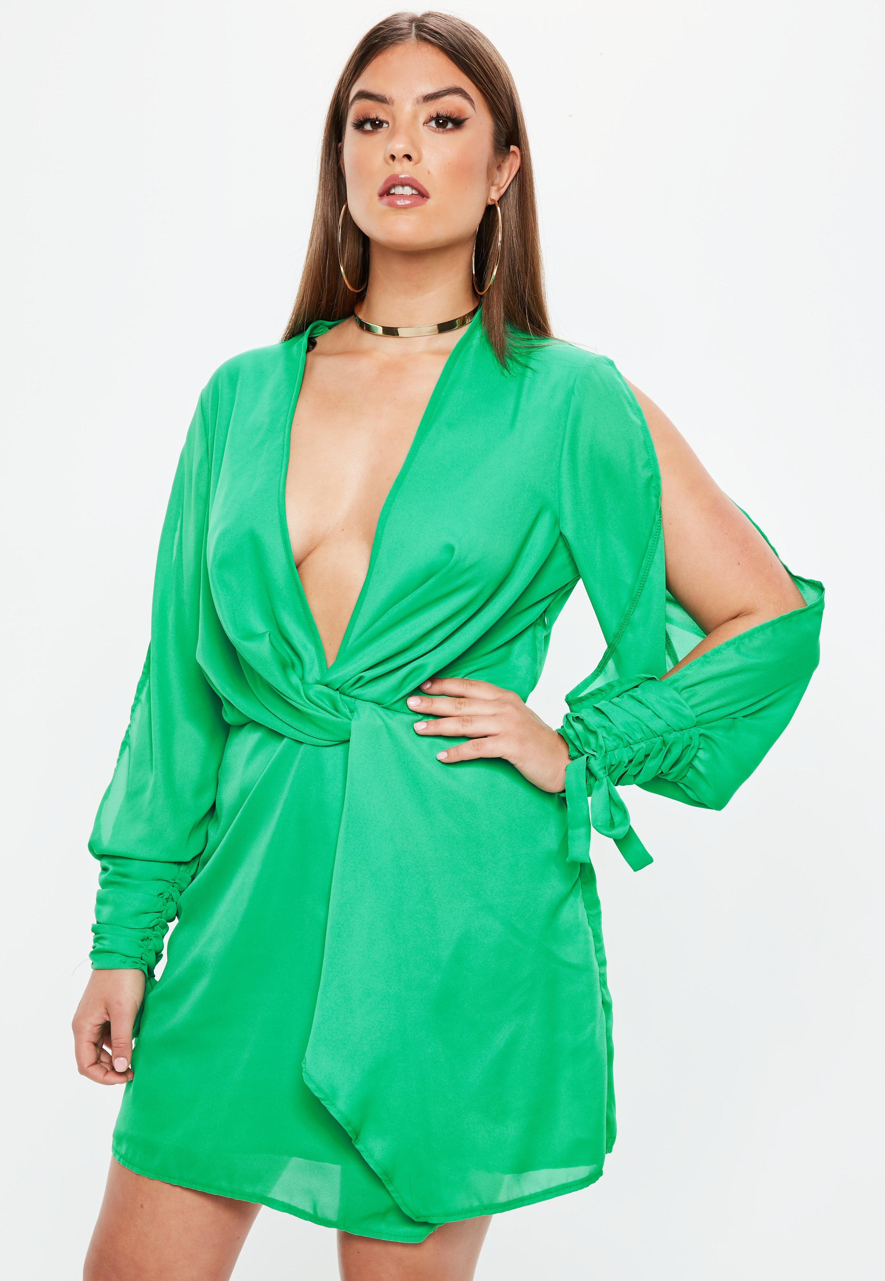 Satin Dress - Shop Silky Dresses Online | Missguided