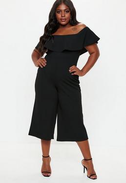 Black Jumpsuits Plain Black Jumpsuits Missguided