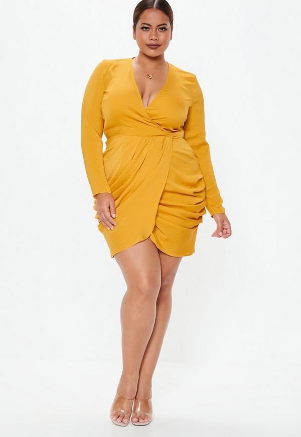 a072fb75569 Plus Size Yellow Dress – Fashion dresses